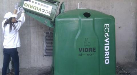 Ayuntamiento O Carballiño y Ecovidrio promueven reciclado vidrio sector hostelero