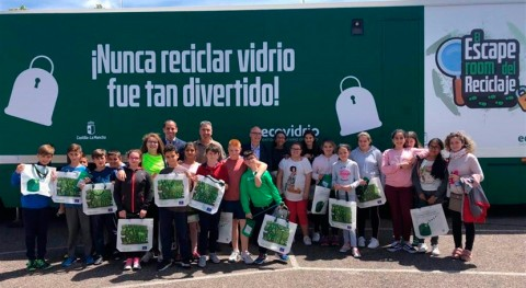 """Llega """"Escape Room Reciclaje"""" promover reciclaje vidrio más jóvenes"""