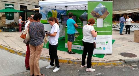 vecinos San Xoán Río se forman correcta separación residuos