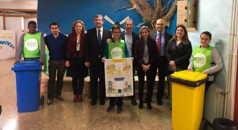 """Impulso reciclaje centros educativos Murcia """"Red Colegios EducaEnEco"""""""
