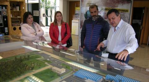 alcalde Boalo-Cerceda-Mataelpino se interesa actividad Sogama
