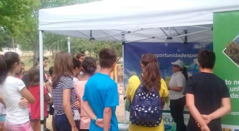 colegio Manuela Rial Mouzo Cee hace mejor vídeo-proyecto separación residuos
