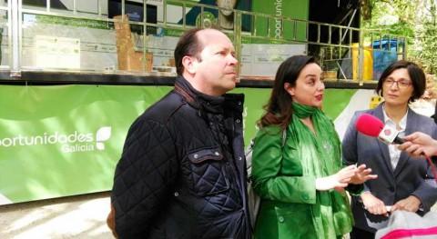 """presidente Sogama visita Santiago tráiler campaña """"Oportunidades Galicia"""""""