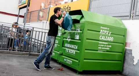 Humana recoge 276.000 toneladas textil usado 30 años actividad España