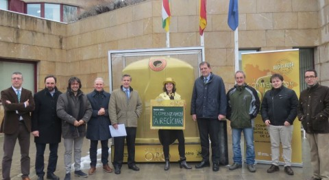14 municipios riojanos participan ' contenedor oro', que premiará reciclaje vidrio