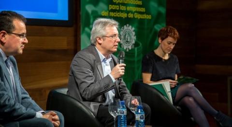 Más 30 empresas guipuzcoanas constituye Clúster Reciclaje