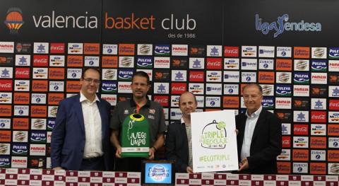 Generalitat y equipos básquet valencianos impulsan reciclado