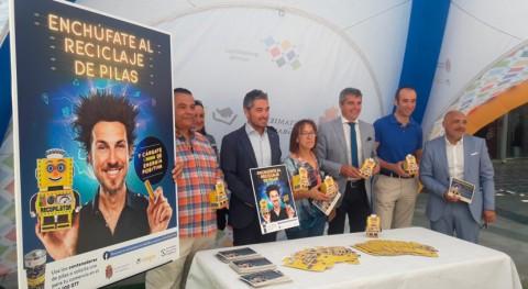ERP España colabora nueva campaña reciclaje pilas Granada