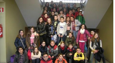 Escolares Salceda Caselas conocen pormenores reciclaje modelo Sogama