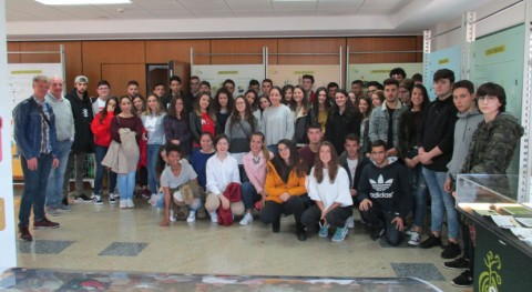 Estudiantes Redondela y Forcarei conocen complejo industrial Sogama Cerceda
