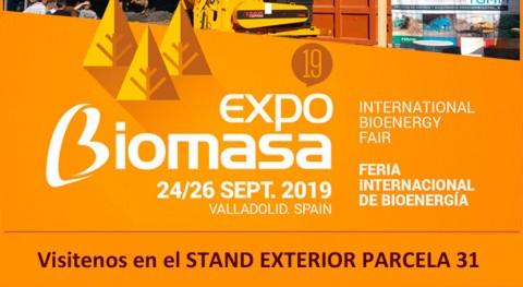 Visítanos Expobiomasa 2019