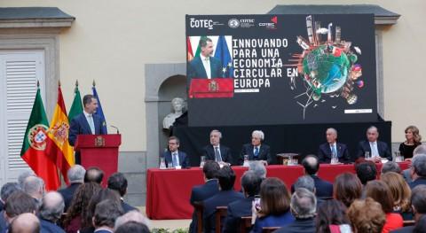 """S.M. Rey: """" innovación juega papel clave transición economía circular"""""""