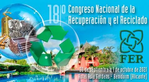 18º Congreso Recuperación y Reciclado batirá registro histórico inscripciones