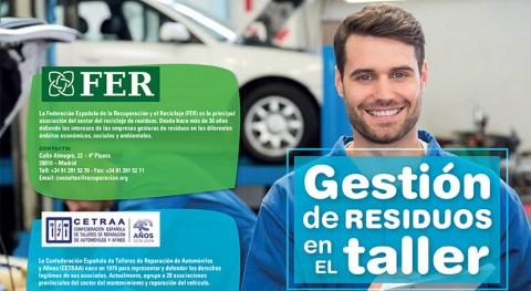FER y CETRAA lanzan campaña cómo gestionar residuos generados talleres