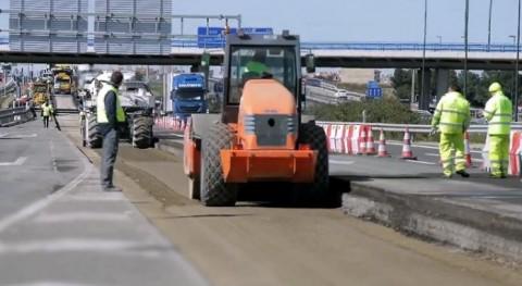 Ferrovial desarrolla nuevo firme árido siderúrgico reciclado uso carreteras