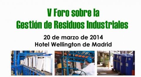 V Foro Gestión Residuos Industriales, organizado ASEGRE