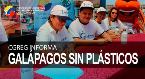 Galápagos manifiesta voluntad restringir consumo plásticos solo uso