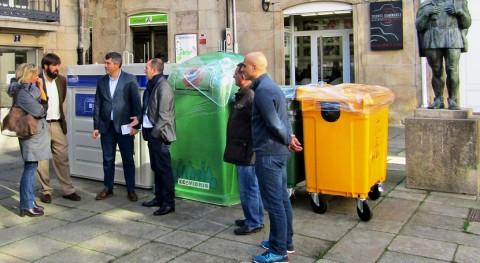 40 ayuntamientos Coruña contarán nuevos contenedores envases y papel-cartón