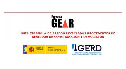 Guía Española Áridos Reciclados procedentes Residuos Construcción y Demolición