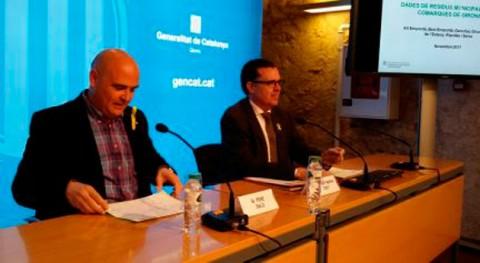 Gironès encabeza recogida selectiva neta comarcas Girona