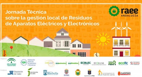 RAEE organiza jornadas técnicas formar técnicos municipales gestión residuos