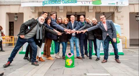 Guadalajara bate récord mundial recogida selectiva botellas vidrio hora
