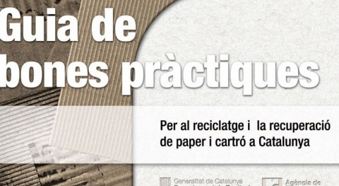 Presentación Guía buenas prácticas reciclaje papel y cartón Cataluña