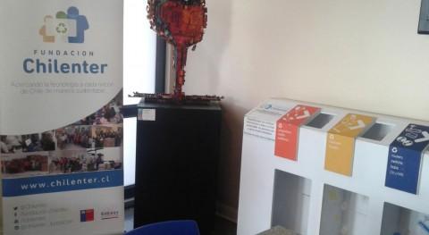 Hatch entrega más tonelada E-waste Chilenter
