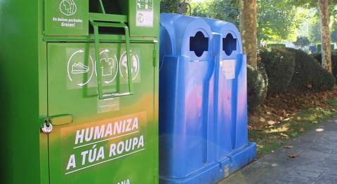 municipio gallego Carballo duplica número puntos recogida textil vía pública