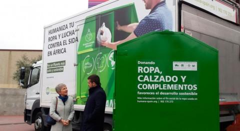 Humana se adjudica contrato servicio recogida selectiva textil Alcorcón