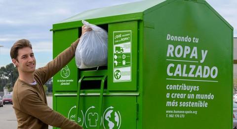Aumentar contenedores textiles calle, imprescindible alcanzar meta residuos