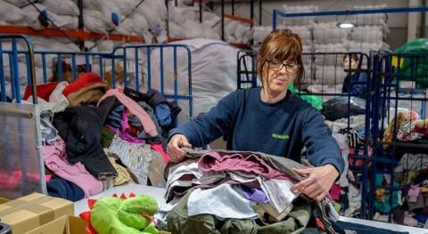 Segunda vida ropa: Humana recupera 8.000 toneladas España primer semestre 2019