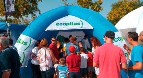 Ecopilas recoge 1,5 toneladas pilas usadas durante Vuelta Ciclista España
