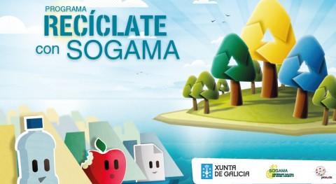 """Convocados premios escolares sexta edición programa """"Recíclate Sogama"""" 2017-2018"""
