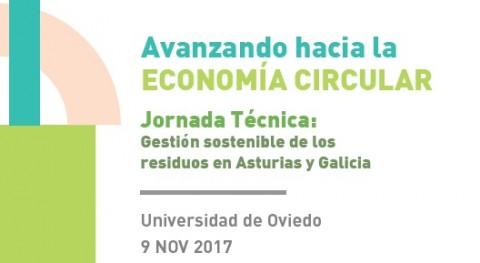 Oviedo acoge jornada técnica economía circular y gestión sostenible residuos