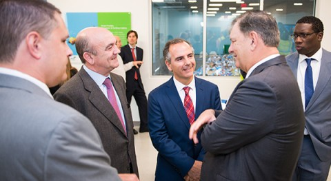 FCC inaugura planta reciclaje materiales Dallas