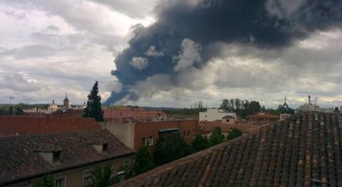 Madrid destina 1,9 millones limpieza residuos incendio vertedero Seseña