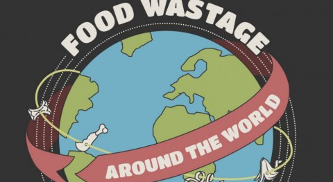 7 datos, 7 infografías, desperdicio alimentos nivel global