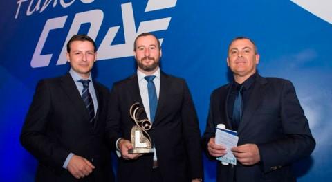 Premio innovación guardarraíl fabricado neumáticos reciclados