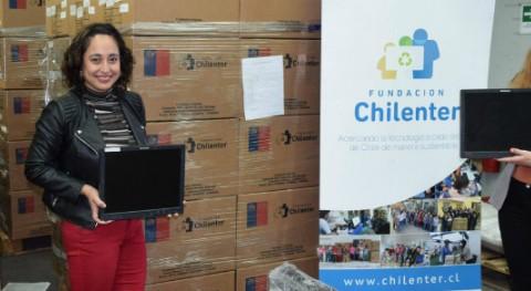 Banco Itaú activa campaña interna reciclaje residuos electrónicos junto Chilenter