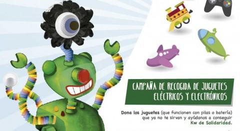 """""""Kilowatios solidaridad"""" recogerá juguetes eléctricos escolares Albacete"""