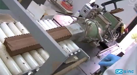 Fabrican ladrillos residuos papel