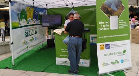 """""""Oportunidades Galicia"""" viaja Friol ayudar vecinos reciclar más y mejor"""