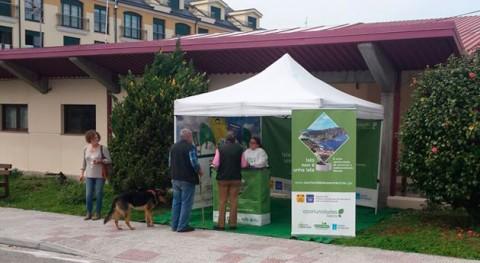 carpa informativa reciclaje llega Santiso