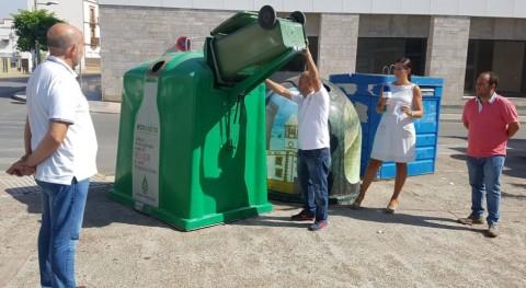 Algaba se une campaña reciclaje vidrio sector HORECA