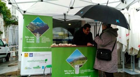 Leiro y Petín, planning campaña reciclaje gallega este mes