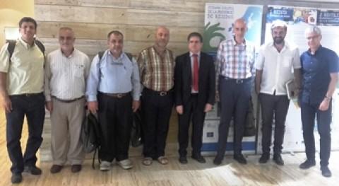 delegación Líbano conoce primera mano gestión residuos Cataluña
