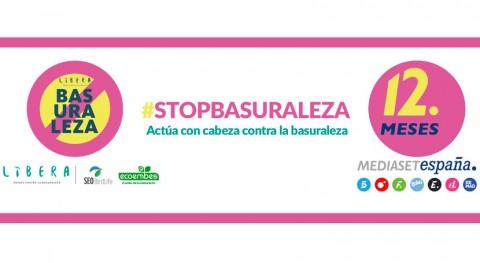 12 Meses lanza #stopbasuraleza luchar abandono basura espacios naturales