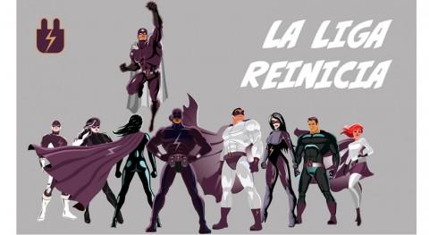 Reinicia presenta liga superhéroes