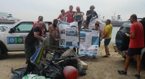 Clean up the Sea: Voluntarios se unen limpieza litoral San Roque